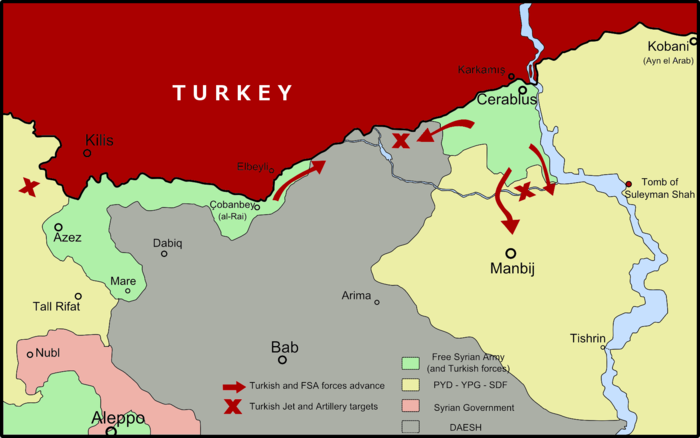 USNATOTurkey Invasion Of Northern Syria CIA Failed Turkey - Map of syria and turkey
